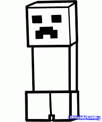minecraft coloring pages golden le printable coloring page of a