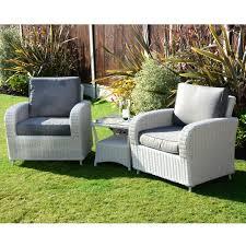 Kensington Bistro Chair Kensington Deluxe Tea For Two Set With A Low Table Pebble