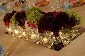 Burgundy Wedding Centerpieces by Centertable Francisflowers It