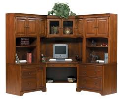 traditional corner desk hutch amish desks with computer and its