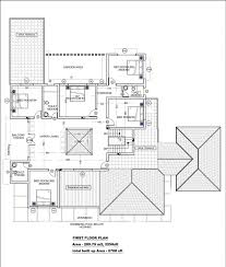 houseplans 120 187 modern villa plan first floor small house designs and plans