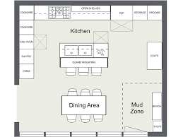 floorplan layout exquisite design kitchen floor plans with island layout