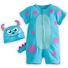 romper for baby halloween costume sulley