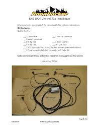 boondocker polaris rzr xp 1000 control box install user manual 6