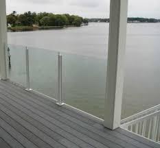 glass deck rails google search deck railing pinterest
