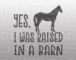 Raised In A Barn I Like Pig I Cannot Lie Funny Pig Bacon Svg Filebbq Svg