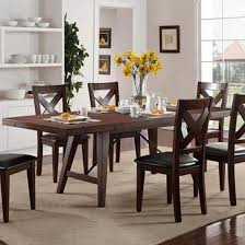crown mark 2103t 4295 sierra transitional dining table