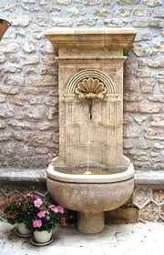 Backyard Fountains For Sale by Outdoor Fountains French Fountains Limestone Fountains Patio