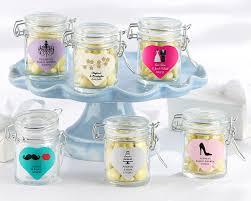 favor jars personalized glass favor jars set of 12