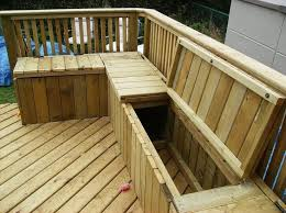 Plans For Building A Picnic Table With Separate Benches by Best 25 Deck Seating Ideas On Pinterest Deck Bench Seating