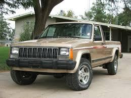 jeep pickup comanche daily turismo pioneer longbed 1989 jeep comanche mj