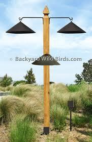 Backyard Wild Birds Post Bird Feeder Pole Kit At Backyard Wild Birds Crafts