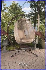 Patio Egg Chair New Hanging Egg Chair Patio Swing Outdoor Home Furniture Poolside