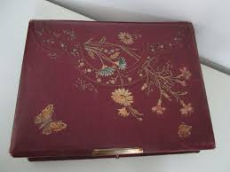 antique photo album nostalgic antique photo album of leather with 31 photos