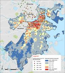 Hubway Map Boston Bike Share Development Plan U2022 Foursquare Itp
