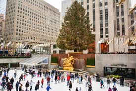the 2016 rockefeller center tree has arrived in midtown