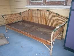 vintage cane lounge daybed ebay daybeds pinterest daybed