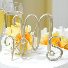 monogram wedding cake topper the wedding specialiststhe wedding