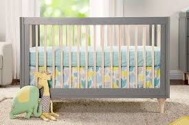 Babyletto Convertible Crib Babyletto Lolly 3 In 1 Convertible Crib Toddler Rail Included Grey