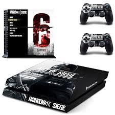 siege console de jeux playstation 4 skin rainbow six siege includes 2