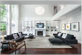 modern scandinavian interior design living room with chimney