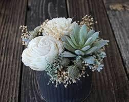 faux flowers etsy