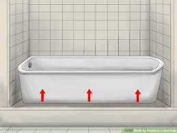 Diy Bathtub Replacement How To Replace A Bathtub 11 Steps With Pictures Wikihow