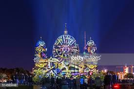 berlin landmarks in special lights stock photo getty images