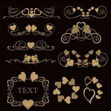 luxury ornaments borders with frame vector 06 welovesolo