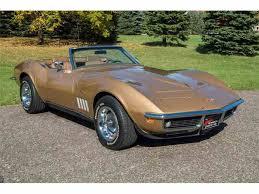 1969 convertible corvette 1969 chevrolet corvette for sale on classiccars com 93 available