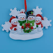 aliexpress buy wholesale resin snowman family of 4