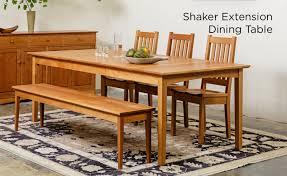 Shaker Dining Room Set Dining Room Furniture Wood Dayri Me