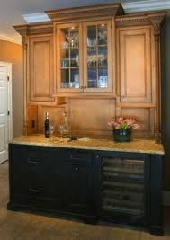Staggered Cabinets Pantry Cabinet Butler Pantry Cabinet Ideas With Wine Server