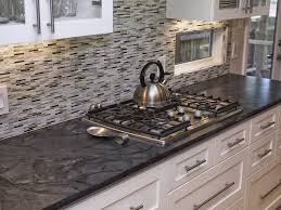 tiles backsplash kitchen counter glass ideas for dark cabinets