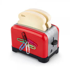 accessoire de bureau rigolo bloc notes multifonctions toaster cadeau maestro