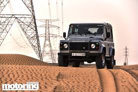 new land rover defender 2013 2013 land rover defender 90 review motoring middle east car