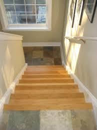 slate tile landing bamboo stairs bradley j winkler llc
