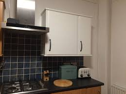 can you paint b q kitchen cabinets one section done b q v33 kitchen cupboard paint kitchen