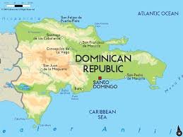 Central America Map And Capitals by Dominican Republic Is Country In North America The Capital Of