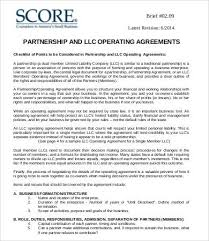 operating agreement template llc operating agreement template 13