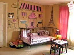 Retro Girls Bedroom Themed Bedrooms For Teenage Girls White Gray Retro Pattern Fabric