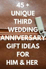 3rd wedding anniversary gift ideas best 25 third wedding anniversary gift ideas on third