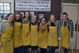 Urban Grace Spring Break Means Serving Others Gonzaga University News Service