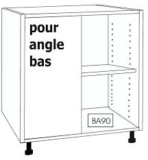 caisson bas de cuisine caisson bas cuisine caisson bas pour angle droit meuble bas angle