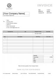 Simple Invoice Template Sample Simple Invoice Services Rabitah Net