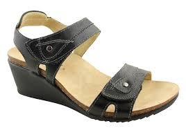 Planet Shoes Parle Womens Leather Comfort Wedge Sandals Brand