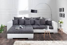 sofa grau weiãÿ sofa in einzigartigem design riess ambiente de