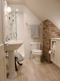cozy small bathroom ideas toilet window and attic module 16