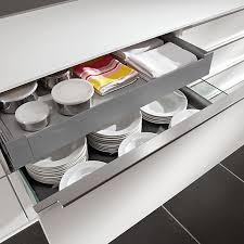 tiroir pour cuisine cuisine aménagée l aménagement d intérieur et rangements