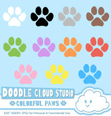 chalkboard halloween cat clear background colorful paw prints cliparts dog cat paws pet clip arts